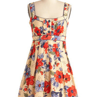 Picking Violets Dress in Bouquet | Mod Retro Vintage Dresses | ModCloth.com