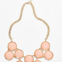 BP. Circle Stone Statement Necklace (Juniors) | Nordstrom