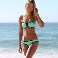 Mint strapless bikini, swimsuit, bathingsuit