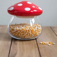 Amanita Second Helping Jar | Mod Retro Vintage Decor Accessories | ModCloth.com