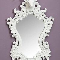 Deer Mirror in White - Urban Outfitters