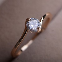 Only You Rhinestone Ring