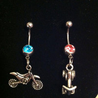 Dirt bike/Atv belly rings
