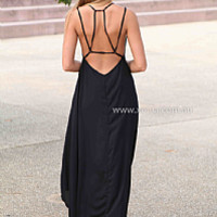 MUSIC OF THE SUN MAXI , DRESSES, TOPS, BOTTOMS, JACKETS & JUMPERS, ACCESSORIES, 50% OFF SALE, PRE ORDER, NEW ARRIVALS, PLAYSUIT, COLOUR, GIFT VOUCHER,,MAXIS,SLEEVELESS,Black Australia, Queensland, Brisbane