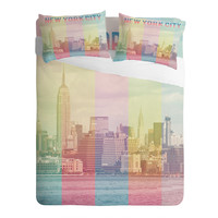 Catherine McDonald New York City Rainbow Sheet Set