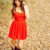 This Heart Of Mine Dress: Red | Hope's