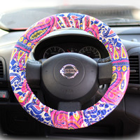 Steering-wheel-cover-for-wheel-car-accessories-Tribal-Wheel-cover