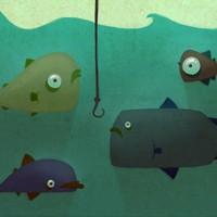 """Various Fish"" - Art Print by Lois Van Baarle"