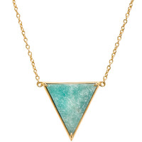 Elizabeth and James Apollo Pendant in Amazonite