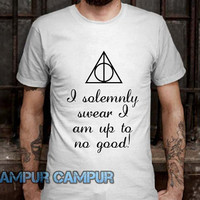 Deathly Hallows I solemnly swear im up to no good Tshirt -CAMPURCAMPUR-
