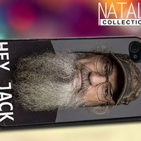 Hey Jack_ I'm Si Robertson - iPhone 4/4s/5 Case - Samsung Galaxy S3/S4 Case - Blackberry Z10 Case - Ipod 4/5 Case - Black or White