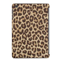 Leopard Print Fabric iPad Mini Retina Case