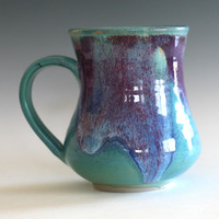 Large Coffee Mug, 22 oz, handmade ceramic cup, ceramic stoneware mug, coffee cup
