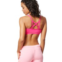 LLD Zippered Sports Bra