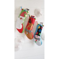 Mud pie Holiday Character Stocking