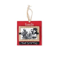 Mud Pie Family Chalkboard Ornament Frame