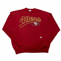 Vintage 1996 San Francisco 49ers Pro Player Crewneck Sweatshirt Made in USA Mens Size XL