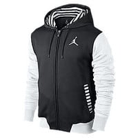Nike Jordan Flight Minded Remixed Men's Hoodie - Black Heather