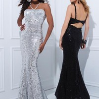 Tony Bowls Paris 114739 at Prom Dress Shop