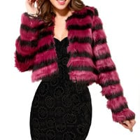 Final Sale - Cheshire Faux Fur Coat