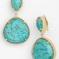 Kendra Scott 'Penny' Drop Clip Earrings | Nordstrom