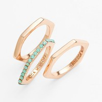 Rebecca Minkoff Stackable Rings (Set of 3)