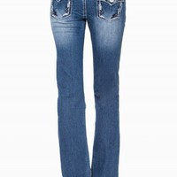 DAKOTA BOOT EMBROIDERED PREMIUM JEANS