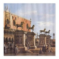 Venice - The Horses of San Marco in the Piazzetta> Shower Curtains> Beautiful Homes