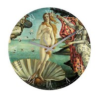 The Birth of Venus Frameless Wall Clock> Clocks> Beautiful Homes