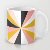 Pinwheel Mug by Brains Are Pretty - Caroline Okun