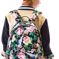 Angelic Rich Floral Backpack