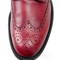 Tod's Genuine Leather Wingtip Dress Shoes- Made in Italy - 			        	Junior Girls and Boys Apparel & Accessories