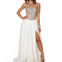 Pre-OrderCeline Silver Prom Dress