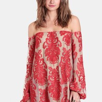 Precioso Off-Shoulder Dress By For Love & Lemons
