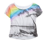 AERIE GRAPHIC CROP T-SHIRT