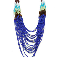 Papaya Clothing Online :: COLORFUL BEADED NECKLACE