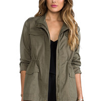 BB Dakota Caitlin Military Jacket in Spring Olive from REVOLVEclothing.com