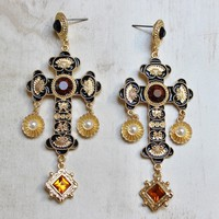 Neuwirth Cross Earrings