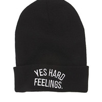 Young and Reckless Yes Hard Feelings Beanie at PacSun.com