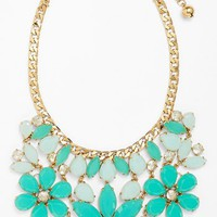 kate spade new york 'gardens of paris' stone statement necklace | Nordstrom