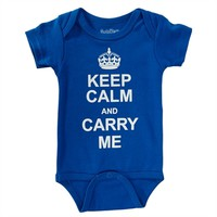 Sara Kety Infant Boy Keep Calm And Carry On Bodysuit at Von Maur