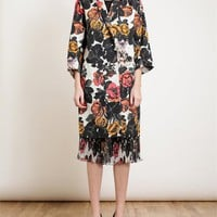 DRIES VAN NOTEN | Floral Printed Cotton Twill Coat | Browns fashion & designer clothes & clothing