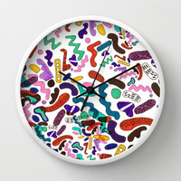 CANDY CRUSH Wall Clock by Vasare Nar