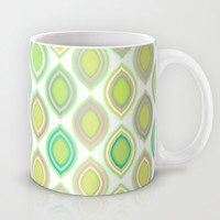 Lemon & Lime Pattern Mug by micklyn