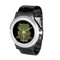 Owl Psychedelic Pop Art watch