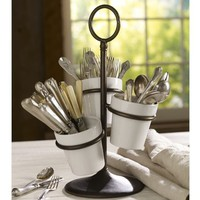 RHODES UTENSIL CADDY