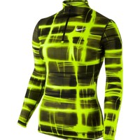 Nike Women's Pro Combat Core Half Zip Long Sleeve Shirt