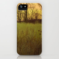 Morningtide - When Night is Left Behind iPhone & iPod Case by Olivia Joy StClaire