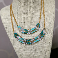 On Your Level {Aqua Necklace}