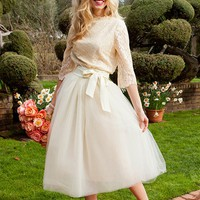 Full Tulle Bloom Skirt from Something Old Something New Collection by Shabby Apple